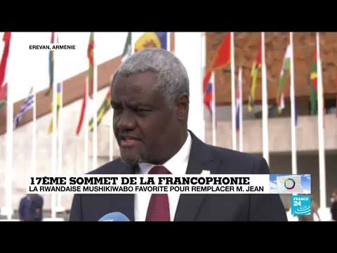 Moussa Faki Mahamat réagit sur F24 à l'élection de Louise Mushikiwabo