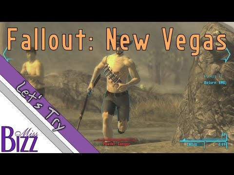 Let's Try Fallout New Vegas! I have no idea how to fix my broken gun....