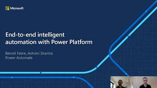 End-to-end intelligent automation with Power Platform | OD240