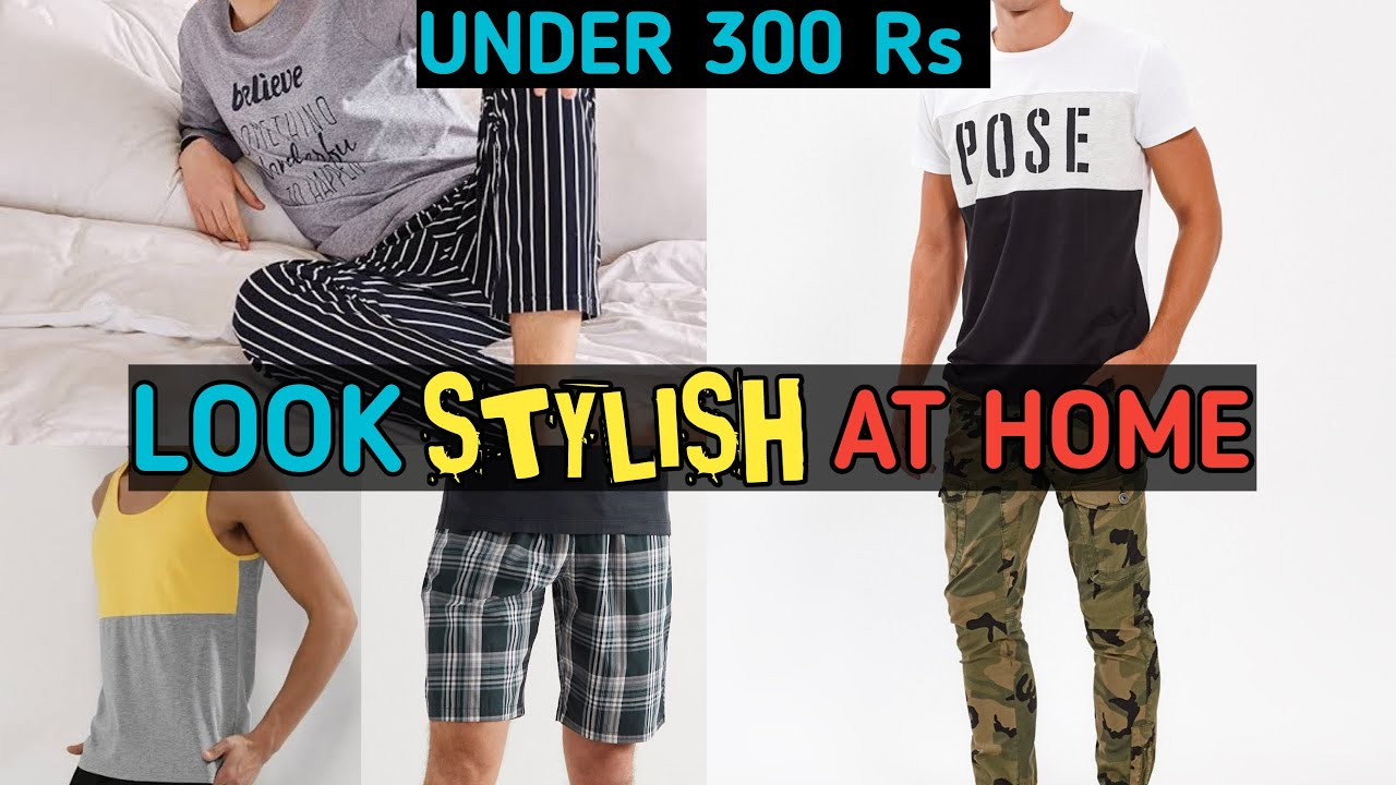 7 STYLISH And AFFORDABLE HOME WEAR For Men Under 300 | Clothes To Wear At Home | Style Saiyan