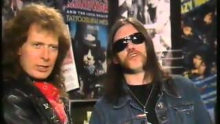 Lemmy and Eddie on Bailey Brothers 1988.wmv