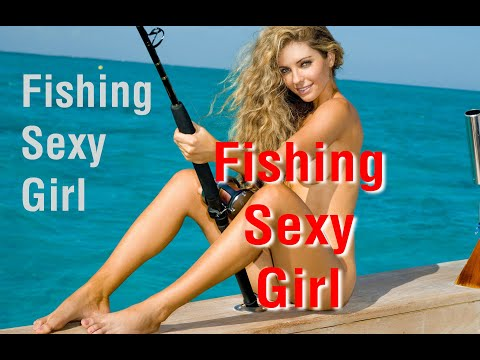 Sexy Girl Fishing Nude