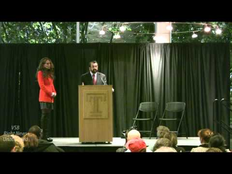 Robert Spencer and Pamela Geller (Q and A) at Temple University
