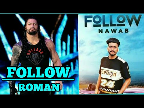 Roman Reigns - Follow Ft. Nawab | Roman Reigns Punjabi Songs | WWE FUNNY | Latest Punjabi Songs 2018
