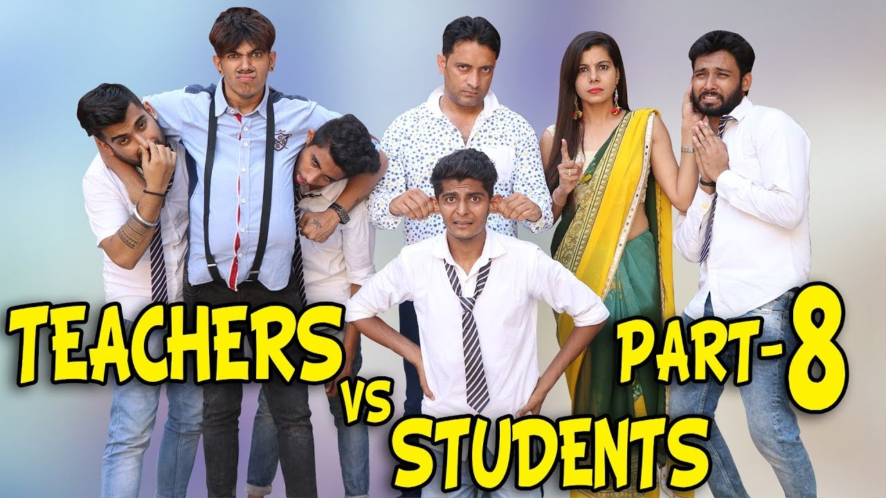 TEACHERS VS STUDENTS PART 8 | BakLol Video |
