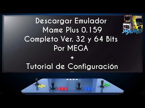 Descargar Emulador Mame Plus 0.159 | 2015 | Configurado + Tutorial (32 Y 64 Bits) | 60 FPS