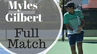 Myles Gilbert Full Match College Video