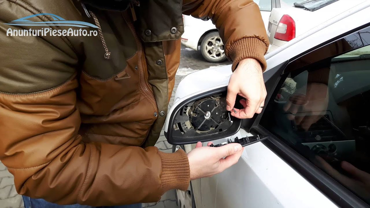 Remove And Reinstall A Mirror Glass Heated Vauxhall Astra H Auto