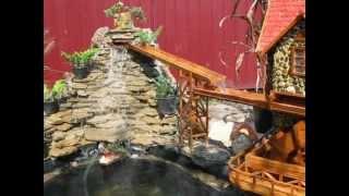 видео Водяная мельница своими руками: сооружение