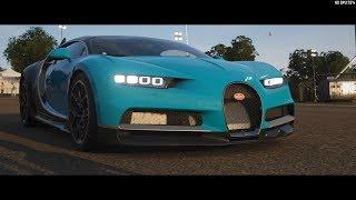 Forza Horizon 4 Demo Part 2 - Bugatti Chiron Movie Stunt & Choosing Dirt Starter Car