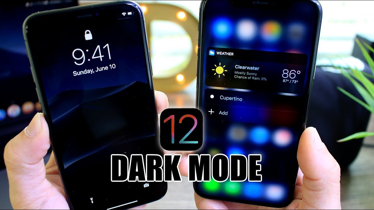 how to make youtube go dark mode