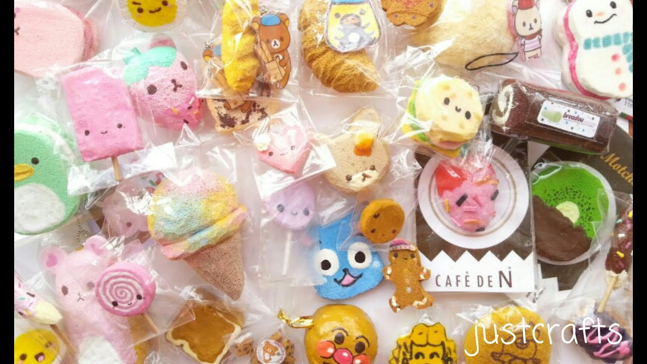 Homemade squishy collection 2014   - YouTube