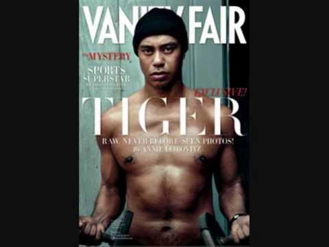 Tiger Woods Shirtless In Vanity Fair