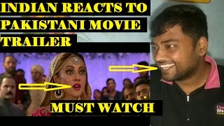 Indian reacts to pakistani movie trailer balu mahi