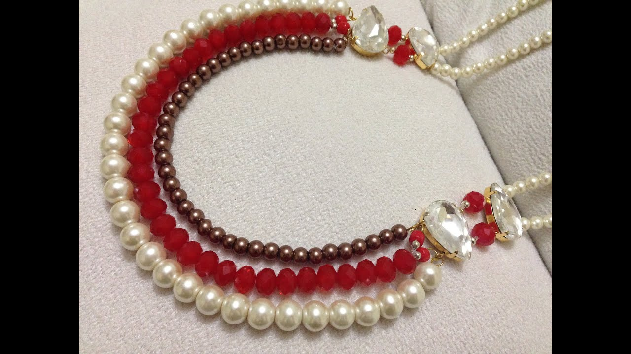 costume different jewelry necklaces pearl suede product cz design jewellery make necklace detail fashion