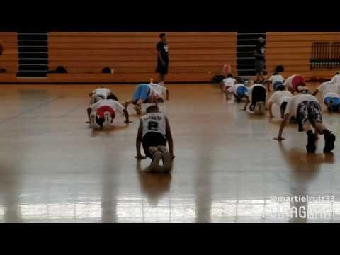 Danny Green and Coach Spann Basketball Camp