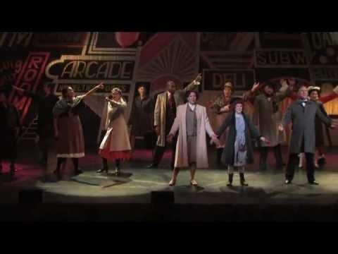N.Y.C. from ANNIE, John George Campbell as DADDY WARBUCKS Madi Ligtermoet ANNIE Heather Keeney GRACE