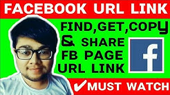 How To Share Facebook Page Fb Link How To Copy Facebook Page Link Url How To Get Fb Page Link Find
