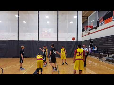 Zillah vs Naches Middle School 7th Grade Basketball 12/7/2017