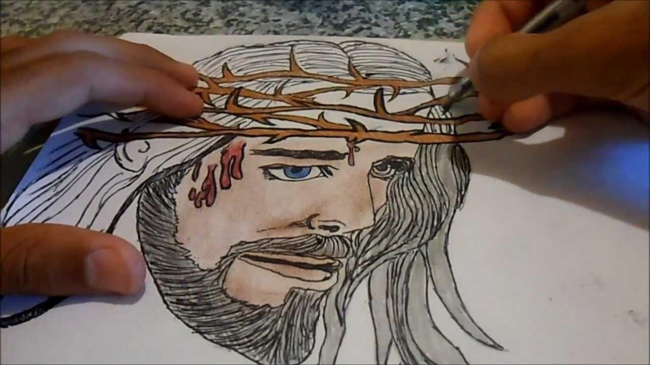 Jesus Cristo desenho - YouTube