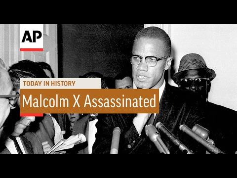 Malcolm X Assassinated - 1965 | Today In History | 21 Feb 17
