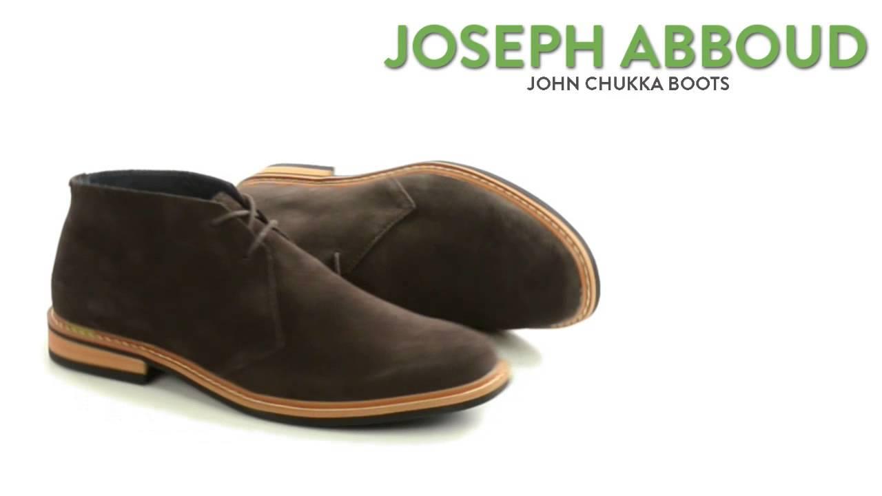 2b3d701d7fe019 Joseph Abboud John Chukka Boots (For Men) - YouTube