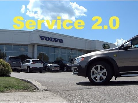 Volvo Software Update At The Dealer. Service 2.0