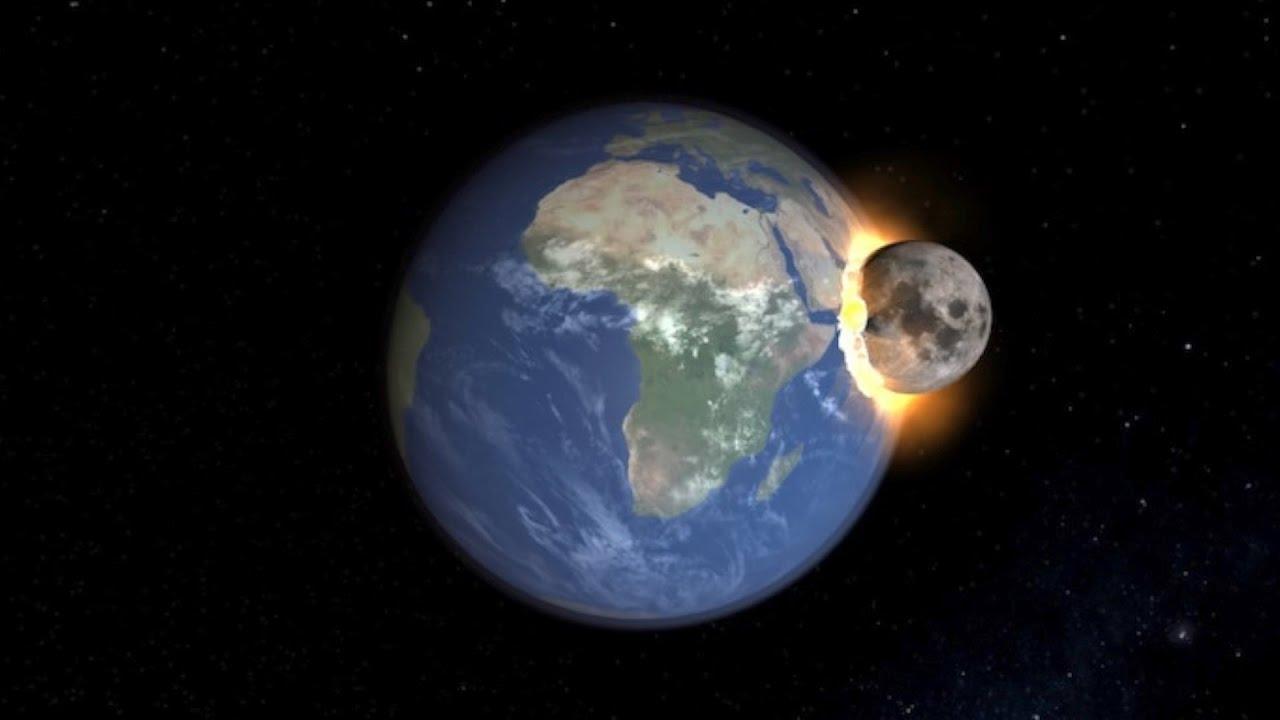 ماذا لو سقط القمر على الأرض؟