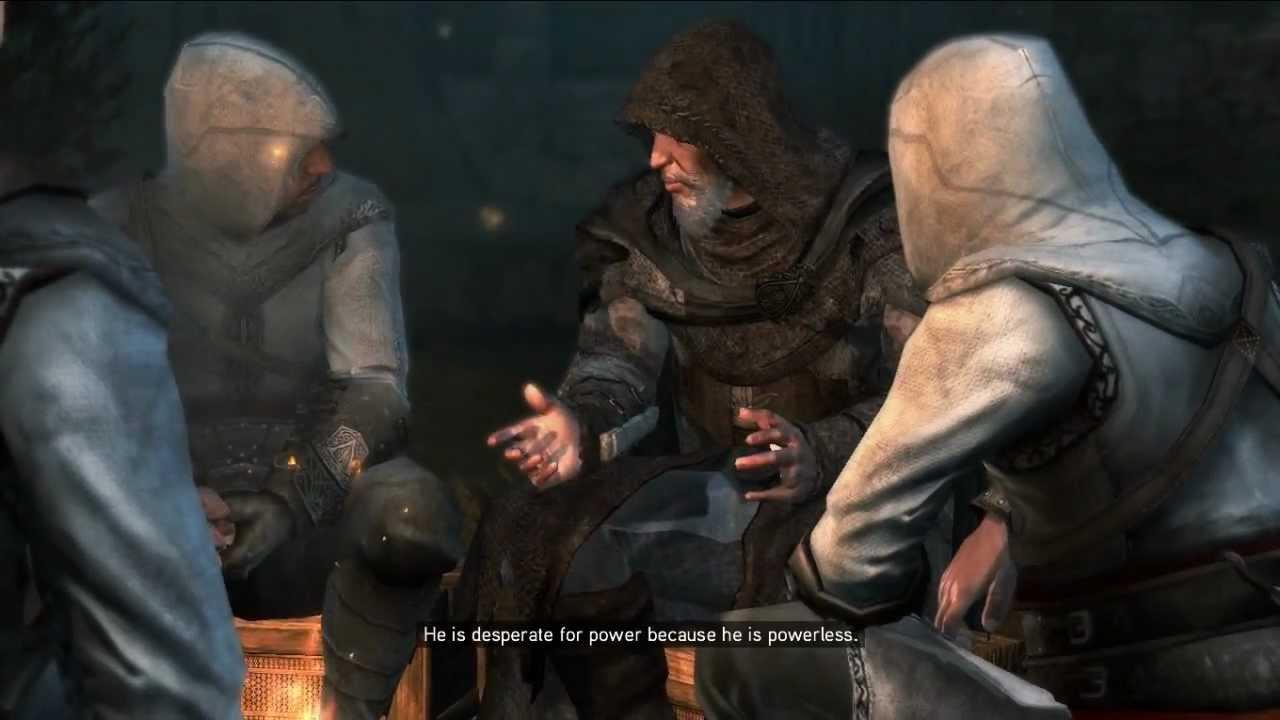 Assassin's Creed Revelations - Altair Memory #4 - The Mentor's Return [HD] #1