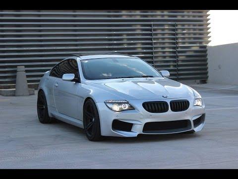 BMW E63 650i Exhaust sound /// M6 Front Bumper /// Muffler ...
