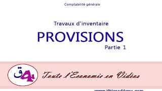 Comptabilite generale : Les Provisions ????? ?????