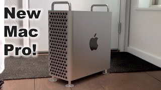 Hands-on with the new 2019 Mac Pro!
