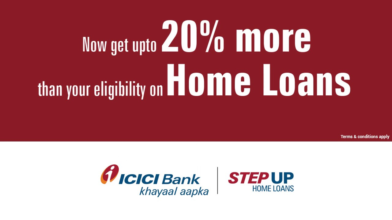 Icici Bank Step Up Home Loans Youtube