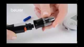 Produktvideo zu Blutzuckermessgerät Beurer GL 44 mmol/l Lila