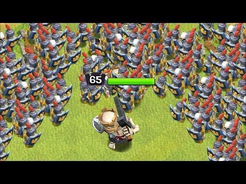 MASS SKELETON KING ARMY!!