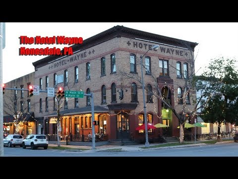 My Stay At The Historic Hotel Wayne In Honesdale, Pennsylvania. Great Place For Foodies
