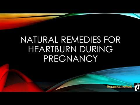 Natural Reme For Heartburn During Pregnancy
