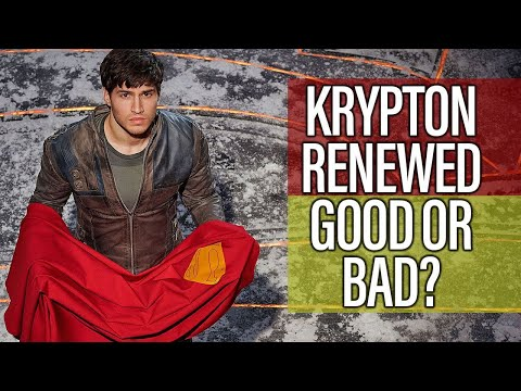 Krypton Renewed For Season 2 - Is That A Good Or Bad Thing?