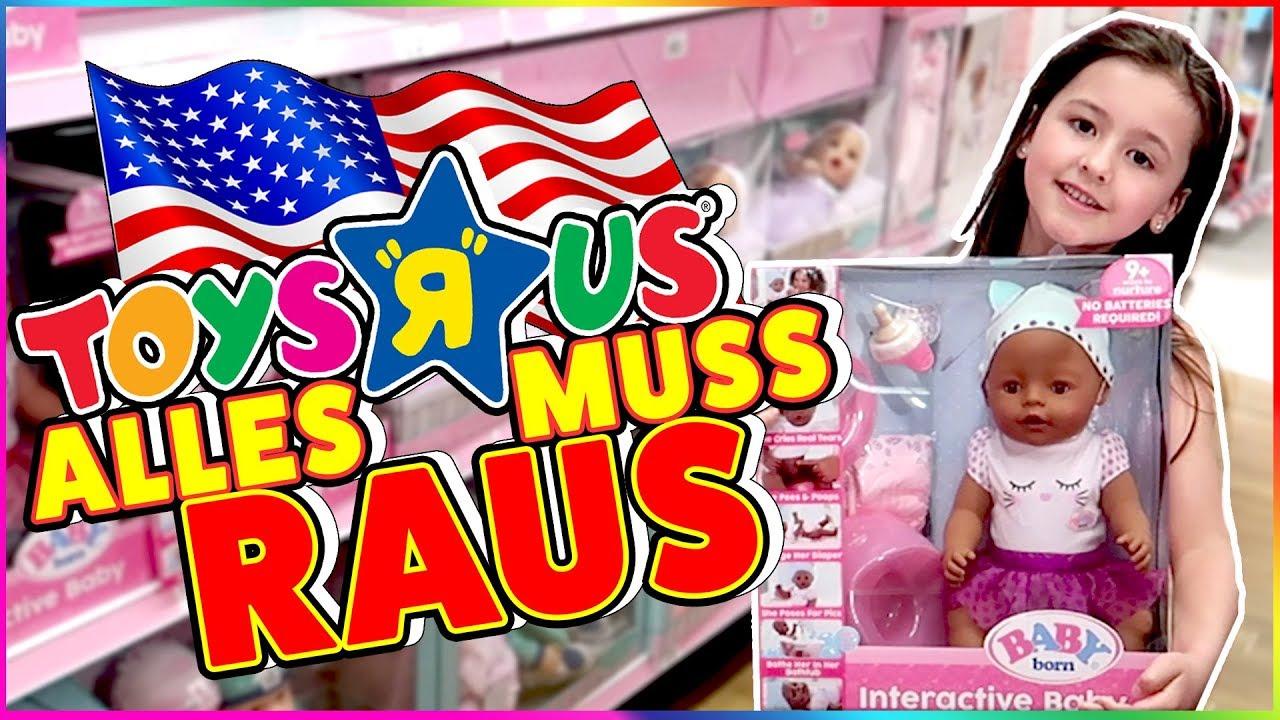 TOYS R US Power Shopping in Amerika! ALLES MUSS RAUS! 💪 Geschichten ...