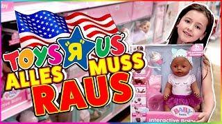 TOYS R US Power Shopping in Amerika! ALLES MUSS RAUS!  💪 Geschichten und Spielzeug