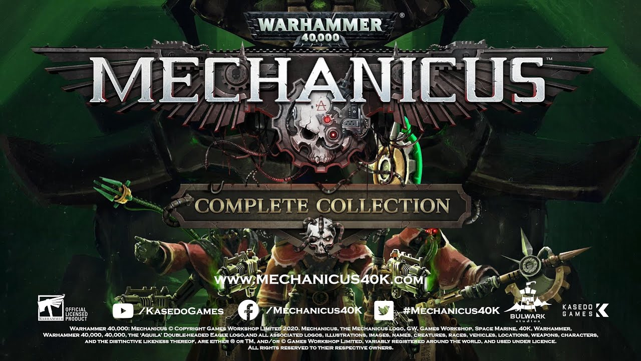 Relive the strategic battle for Silva Tenebris  with the definitive Mechanicus experience.