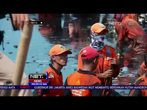 Anies Ikut Bersih bersih Sampah -NET24
