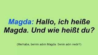 Günlük Almanca Konuşmalar-1(Türkçe Altyazılı)    Täglichen Deutsch Dialog-1(Türkischen Untertiteln)