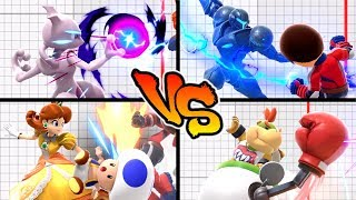 Super Smash Bros. Ultimate - Who has the Strongest Forward Throw?