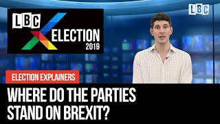 Where do the parties stand on Brexit Tom Swarbrick#39s Elections Explainer