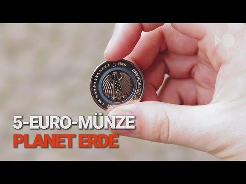 Das Ist Die Neue 5 Euro Münze Blauer Planet Youtube