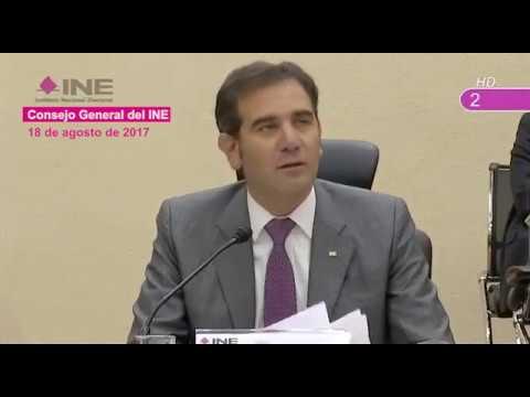 El INE aplica una fórmula constitucional para asignar presupuesto a partidos: Lorenzo Córdova.