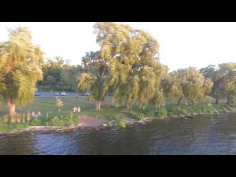 Stewart Park  Ithaca, New York Drone views
