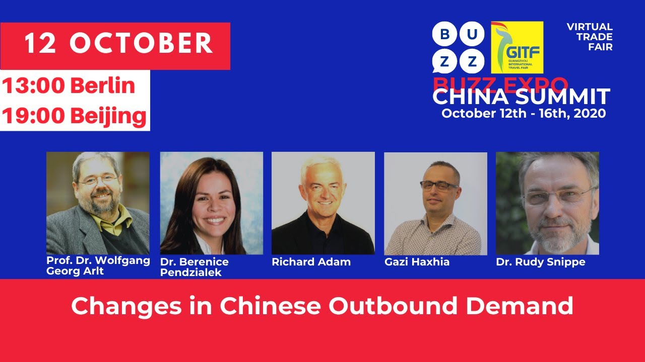 CHANGES IN CHINESE OUTBOUND DEMAND   #bebuzzexpo