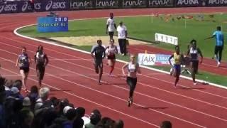 200m CAF - Championnat de France Cadets/Juniors - Chateauroux 2016